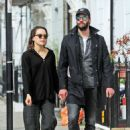 Daisy Ridley and Tom Bateman – Out in Primrose Hill - 454 x 643