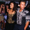 Emilio Estevez and Paula Abdul