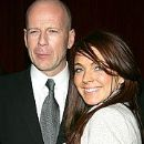 Lindsay Lohan and Bruce Willis