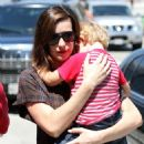 Liv Tyler Arrives At LAX With Her Son Milo 2008-06-23