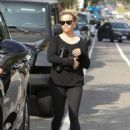 Reese Witherspoon leaves yoga in Los Angeles