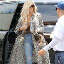 Khloe Kardashian – Out for Lunch in Sherman Oaks