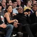Eddie Murphy at Lakers Game