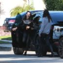 Mila Kunis and Zoe Saldana – Out in Los Angeles - 454 x 303