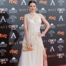 Elena Ballesteros- Goya Cinema Awards 2017 - Red Carpet - 399 x 600