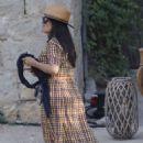 Salma Hayek – Attends a wedding in Barcelona - 454 x 681