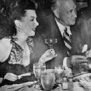 Conrad Hilton and Ann Miller