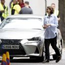 Carey Mulligan – Filming 'Collateral' set in London - 454 x 424