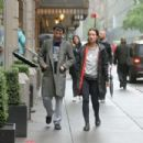 Olivia Wilde and Tom Sturridge Arrive at the Hudson Theatre in NY - 454 x 303