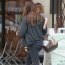 Jessica Biel – Out and about in Studio City - 454 x 665