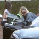 Miley Cyrus – Leaving Nobu in Malibu