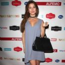 Amanda Cerny at the Alfemo Event in Los Angeles - 454 x 670