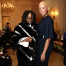 Amber Rose at the Laura Smalls Fall/Winter 2010 Presentation at the Plaza Hotel in New York City - February 18, 2010 - 396 x 594