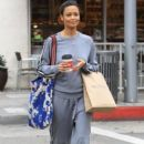 Thandie Newton gets some coffee in Beverly Hills, California on January 9, 2017 - 400 x 600