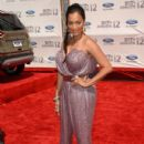 Lala Anthony arrives at the 2012 BET Awards at The Shrine Auditorium on July 1, 2012 in Los Angeles - 405 x 594