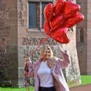 Christine McGuinness – Valentines Day Photoshoot at Peckforton Castle in Cheshire - 454 x 765