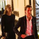 Maria Sharapova and boyfriend Alexander Gilkes – Out in London - 454 x 588