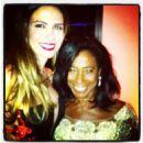 Luciana Gimenez and Glória Maria in NYC - December/2012