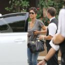 Halle Berry: at the Four Seasons Hotel in Beverly Hills