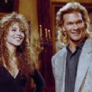 Mariah Carey and Patrick Swayze - Saturday Night Live (1990). - 454 x 293