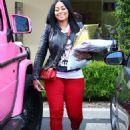 Blac Chyna Out in Calabasas, California - May 7, 2015 - 454 x 601
