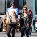 Ashley Tisdale: goes shopping at Planet Blue in Beverly Hills