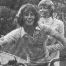 Andy Gibb and Kim Reeder
