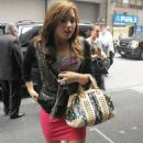 Demi Lovato - Arriving At Her Hotel In Midtown Manhattan, 2010-08-16