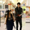 Trace Cyrus and Brenda Song were spotted doing a little shopping at the Sherman Oaks Mall yesterday, September 21
