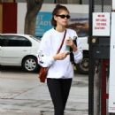 Kaia Gerber – Leaving the gym in Los Angeles