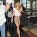 Britney Spears – Arrives into Washington