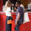 Doutzen Kroes and husband Sunnery James – out in SoHo - 454 x 682