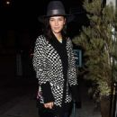 Jessica Szohr at Catch restaurant in Los Angeles February 21, 2017 - 454 x 721