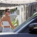 Kendall Jenner – Spotted while leaving 40 Love restaurant in West Hollywood
