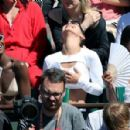 Bella Hadid at Women's Final of the 2017 French Open in Paris