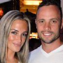 Oscar Pistorius and Reeva Steenkamp - 454 x 303
