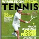 Roger Federer - Tennis Magazine Cover [United States] (July 2014)