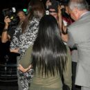Kourtney Kardashian goes to dinner with a friend at Craig's restaurant in West Hollywood, California on August 14, 2015