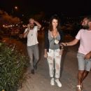 Beren Saat and Kenan Dogulu : out and about in Bodrum (August 28, 2016)