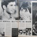 Anthony Perkins - Cinemonde Magazine Pictorial [France] (15 December 1962)