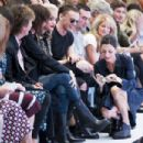 Nancy Shevell, Sir Paul McCartney, Chrissie Hynde; Rita Ora; Jamie Campbell Bower and Mary McCartney attend the Hunter Original show during London Fashion Week Spring Summer 2015 at on September 13, 2014 in London, England - 454 x 303