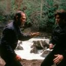 Tommy Lee Jones and Benicio Del Toro in Paramount's The Hunted - 2003