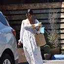 Vanessa Hudgens in Long Summer Dress – Out in Los Angeles