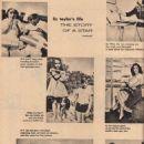 Elizabeth Taylor - Movie Pix Magazine Pictorial [United States] (June 1954) - 454 x 621