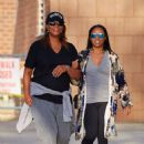 Queen Latifah and Ebony Nicholas