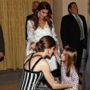 Argentina's President Host a Reception for King Felipe and Queen Letizia - 454 x 388