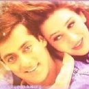 Karishma Kapoor and Salman Khan