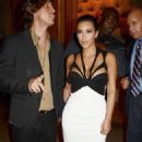 Kim Kardashian: at the launch party for the new DeJour Magazine