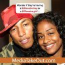 Pharrell Williams and Vashtie Kola