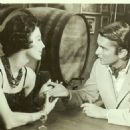Robert Evans and Ava Gardner